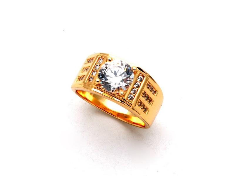十心十箭戒指精鍍戒指八心八箭戒指沙金戒指砂金戒指