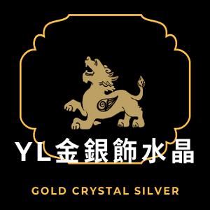 YL金銀飾水晶材料批發