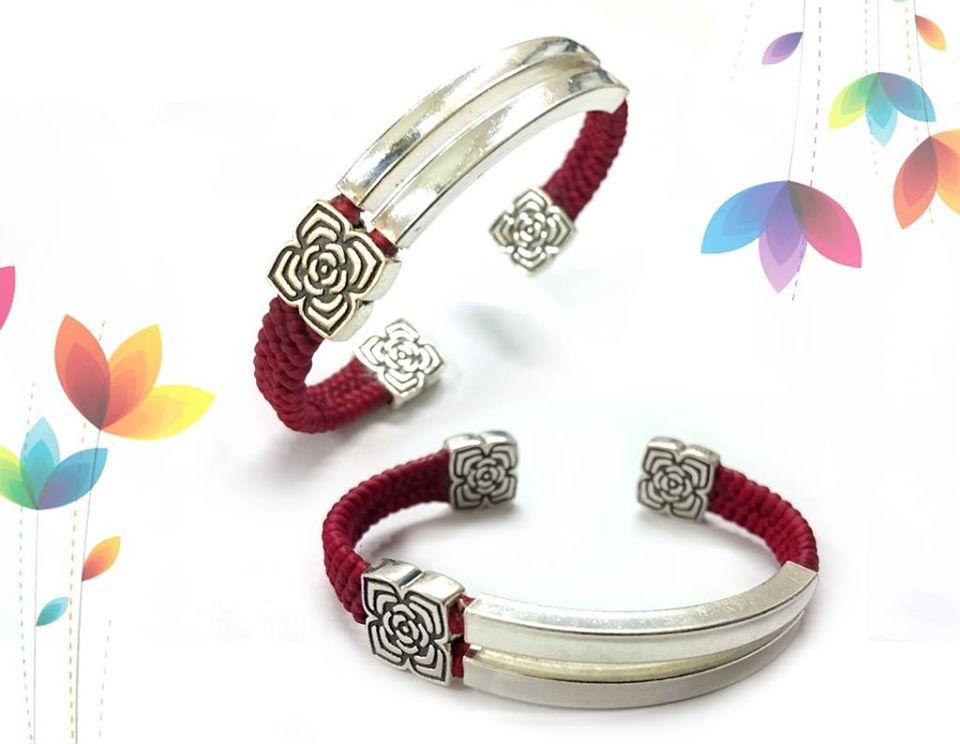 硫化玫瑰方珠_雙孔配珠,蠶絲蠟線手鍊,蠟線編織手鍊,綁線手鍊,銀配件批發